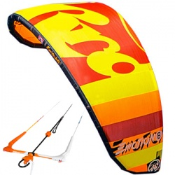 RRD Emotion17m 2016 Kite completo di barra V6
